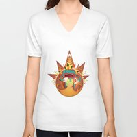 fifth element V-neck T-shirts featuring Element by Miki  Company
