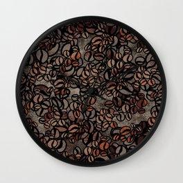 Vintage Coffee Delight Wall Clock