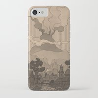 skyrim iPhone & iPod Cases featuring Resdayn by Hieronymus7Z