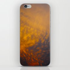 sunset sky iPhone Skin