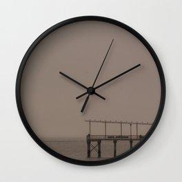 Fishing Pier, A Wall Clock