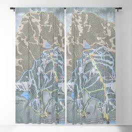 Homewood Resort Trail Map Blackout Curtain