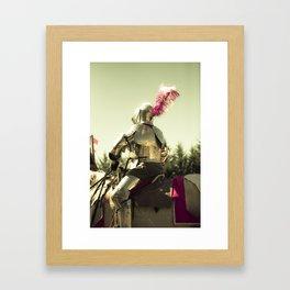 My Knight in Shining Armor Framed Art Print