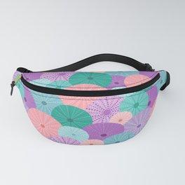 Sea Urchin in Mermaid Hues Fanny Pack