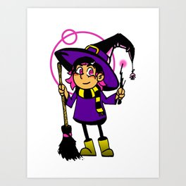 Chance the Witch Art Print