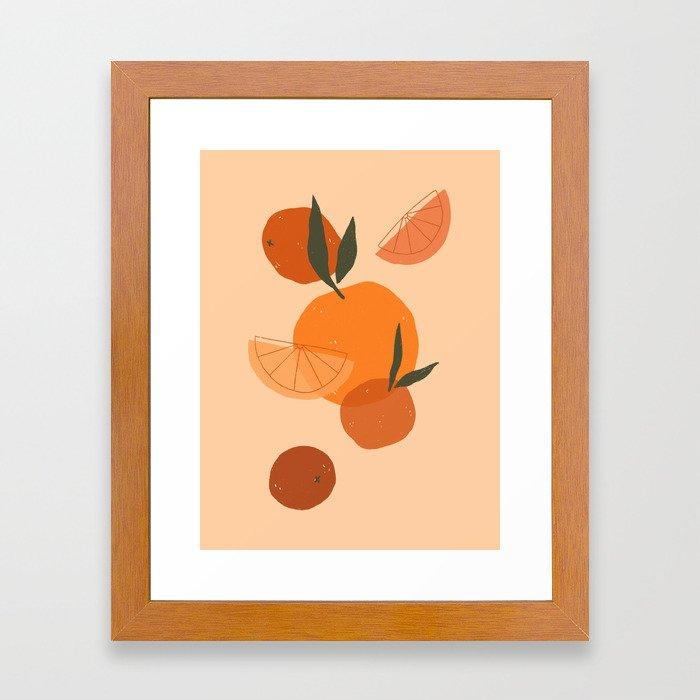 Citrus Love Framed Art Print
