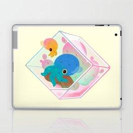 Ocean terrarium - Bobtail squids Laptop & iPad Skin