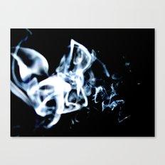Drifting Smoke Canvas Print
