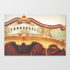 Carrousel Canvas Print