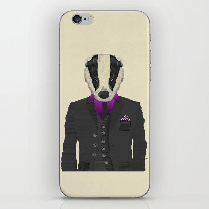 mr badger iPhone Skin