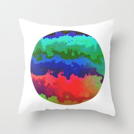 Vivid Planet 09 Throw Pillow