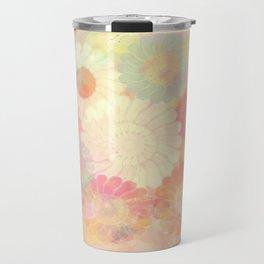 floral painterly effect Travel Mug