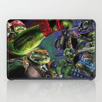 teenage mutant ninja turtles iPad Cases featuring Teenage Mutant Ninja Turtles by artbywilliam