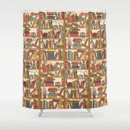 Bookshelf No. 1 Shower Curtain
