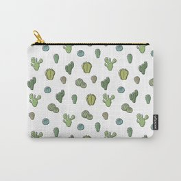 Cartoony Cacti pattern Carry-All Pouch