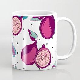 Pomegranate in polka dot Coffee Mug