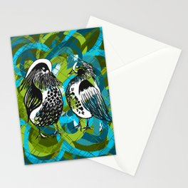 Mandarins in LOVE - Animals Serie Stationery Cards