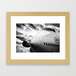 Boeing 747 Framed Art Print