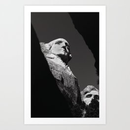 George and Abe Art Print