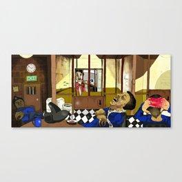 Jail Canvas Print