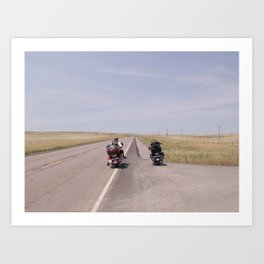 long road Art Print
