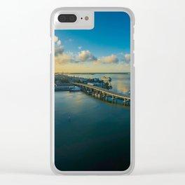 Miami Florida Clear iPhone Case