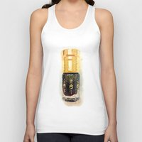 perfume Tank Tops featuring Perfume by Herself