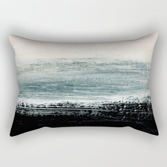 abstract minimalist landscape 3 Rectangular Pillow