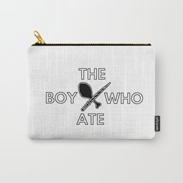 The Boy Who Ate - Wand and Chicken Crest Carry-All Pouch