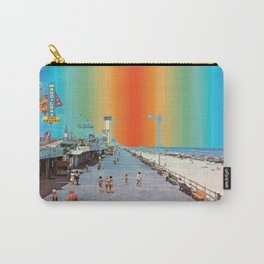 Boardwalk Rainbow Carry-All Pouch