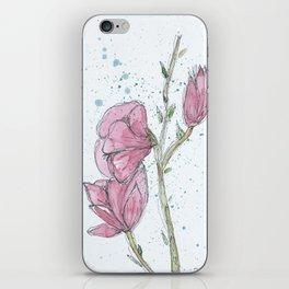 Magnolia #2 iPhone Skin