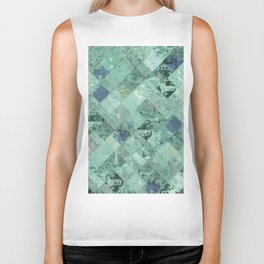Abstract Geometric Background #31 Biker Tank