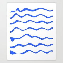 Mariniere marinière – new variations I Art Print