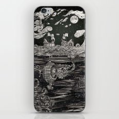 Jupiter's Guide For Submariners iPhone & iPod Skin