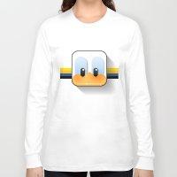 donald duck Long Sleeve T-shirts featuring donald duck by designoMatt