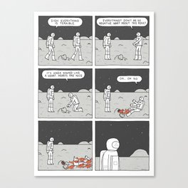 Moonbeard - Everything is Terrible Canvas Print
