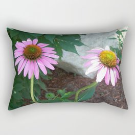 Two Coneflowers Rectangular Pillow