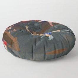 Samurai Crossfit Floor Pillow