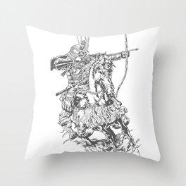 Samuri Throw Pillow