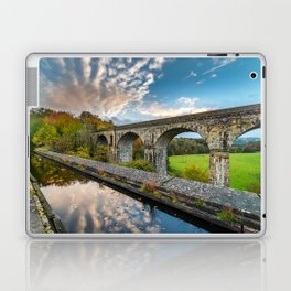 Chirk Aqueduct And Viaduct Laptop & iPad Skin