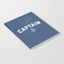 Captain Nautical Quote Notebook