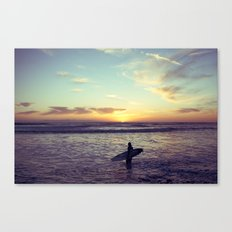 One Last Wave Canvas Print