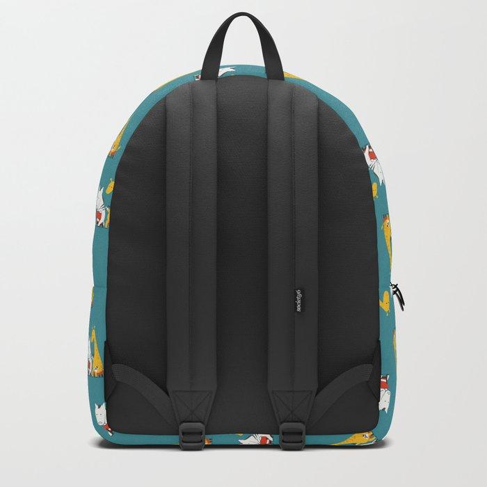 Zebra Tattoo Backpack