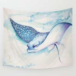 Eagle Ray Wall Tapestry