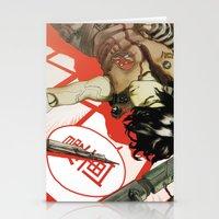 manga Stationery Cards featuring MANGA! by Toni Infante