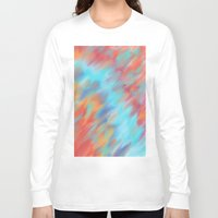 tie dye Long Sleeve T-shirts featuring Tie Dye Mishap by Christina Dugger