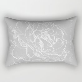 thorns have roses Rectangular Pillow