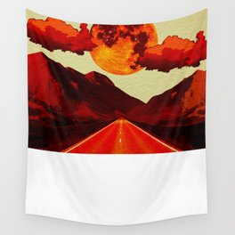 Red Road. Wall Tapestry