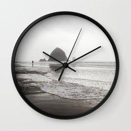 Canon Beach Wall Clock