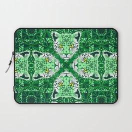 Emerald Leopard  Laptop Sleeve